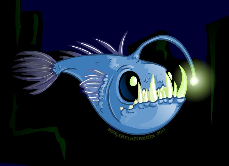 13 best images about angler fish on pinterest deep sea for What do angler fish eat