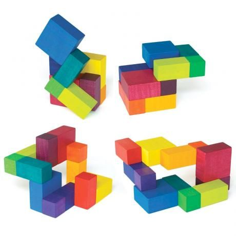 Playable ART Cube Wooden Toy