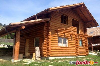 Quanto dura una casa in tronchi di legno