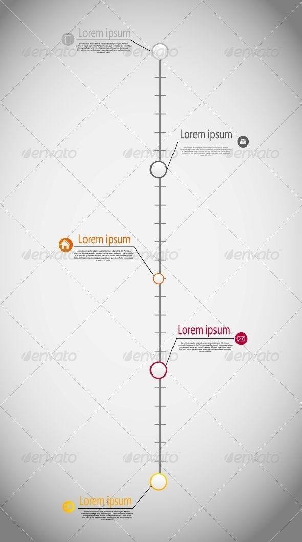 Best  Timeline Infographic Ideas On   Timeline Design