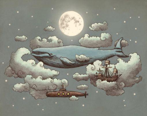 As ilustrações lúdicas de Terry Fan