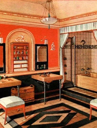 Art Deco - Bathroom