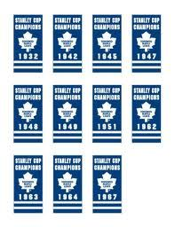 toronto maple leafs Stanley Cup Banners