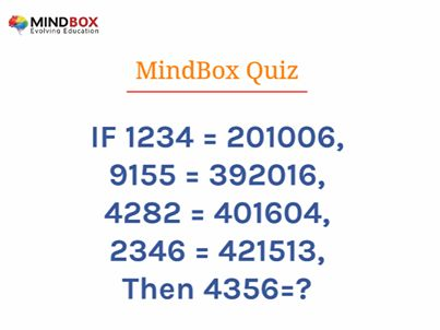 #Mindbox #Quiz of the Day!