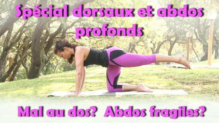 Combiné exercice n°2 et travail de la posture/renforcement du dos
