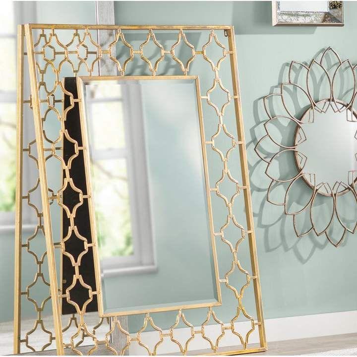Cole Grey Metal Wall Mirror Contemporary Wall Mirrors Mirror