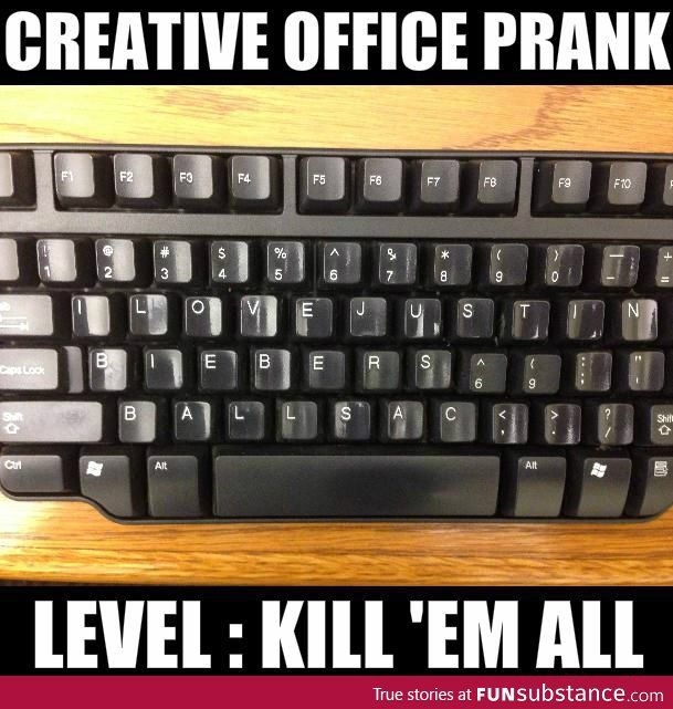 Creative Office Prank