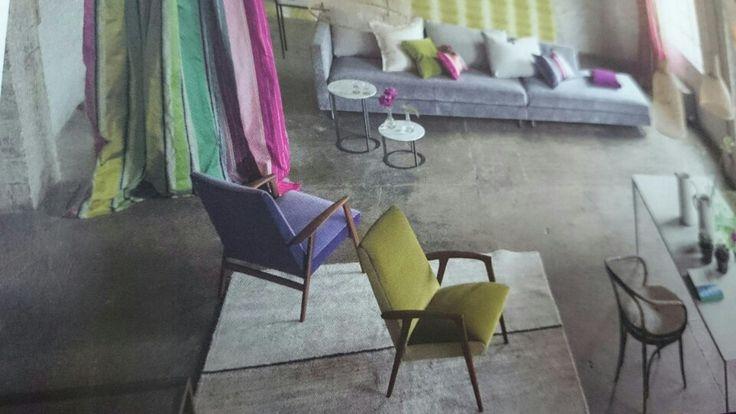 Vintage stoler trukket i Designers Guild