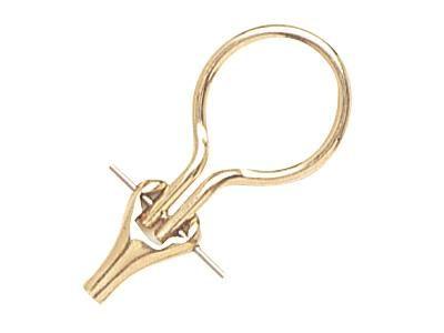 Rivetage de boucles d'oreille avec système de clip