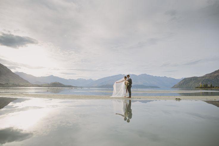 Lake Wanaka Wedding Photography by Alpine Image Company http://blog.alpineimages.co.nz/blog/