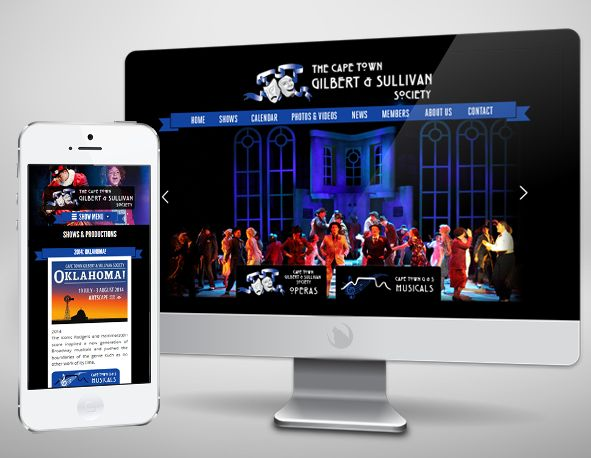 Check out Gilbert & Sullivan's #website. This year's production is Oklahoma at the Artscape in Cape Town. http://www.gilbertandsullivan.co.za