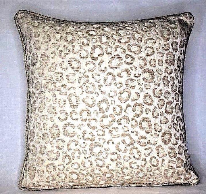 Cheetah Animal Print Chenille