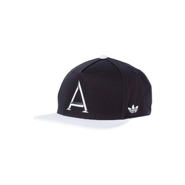 Cap - black/white by adidas Originals
