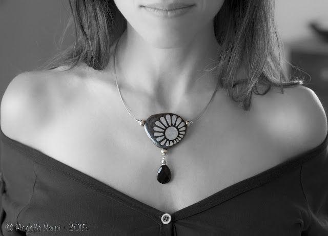 The Creative Art - Cagliari: Le interviste: Emanuela De Murtas - Unapietralcollo - gioielli di sasso.