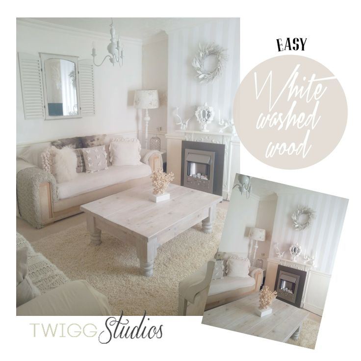 Twigg studios: easy white washed wood
