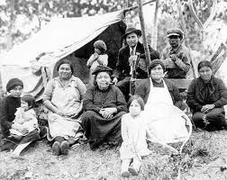 montagnais family but no names, date or location