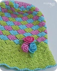 free pattern muy linda la combinación de colores......