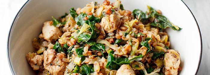 Kasza gryczana z warzywami i kurczakiem   Blog   Kwestia Smaku