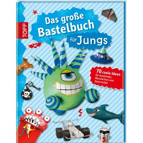 buch das gro e bastelbuch f r jungs spielzeug spielzeug geschenke f r kinder. Black Bedroom Furniture Sets. Home Design Ideas