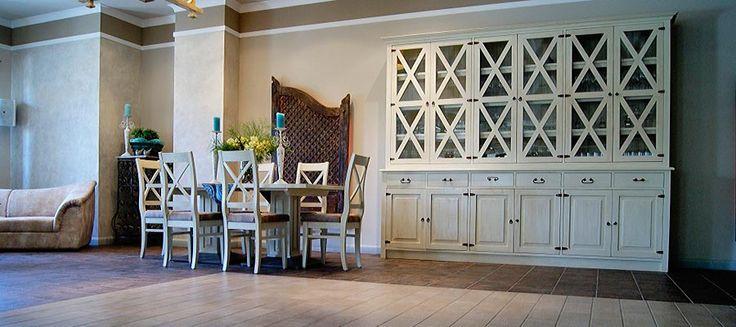Perfectly - furniture from the collection of Hacienda #rustykalne #białe #aranżacje #litedrewno