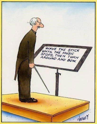 The real job of the conductor