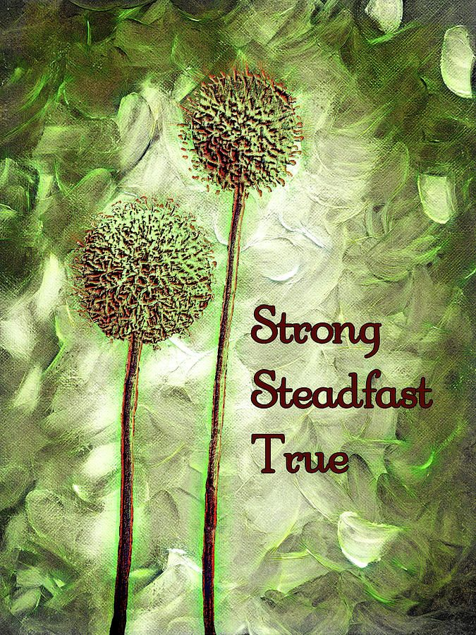 Strong Steadfast True by Leslie Montgomery