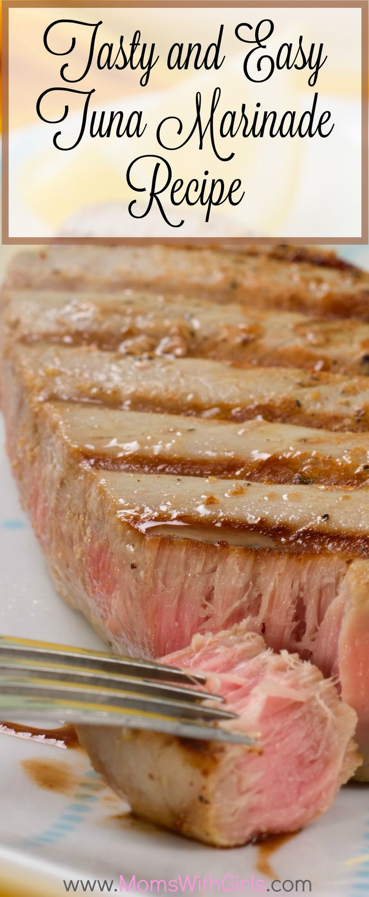 Here is a great tasting tuna steak marinade recipe that you and your guests would enjoy eating.