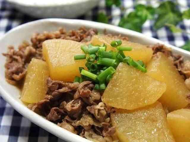 ご飯がすすむ ◆牛肉と大根の煮物◆の画像