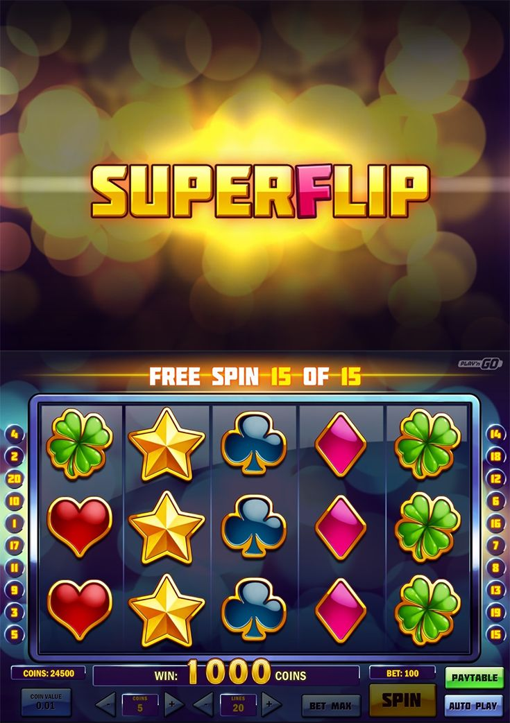 The new Super Flip slot will be available at top-notch casinos such as Casino Euro, Casino Cruise, and Rizk Casino on the 13th of September 2016.  --  #NewSlot #OnlineCasino
