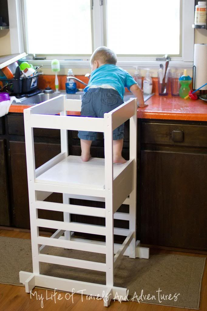 kitchen helper toddler step stool