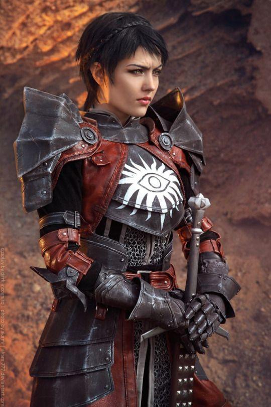 Dragon Age: Cassandra Pentaghast Cosplay - by Kseniya Valputskaya  Photography by Alexandra Kaminskaya