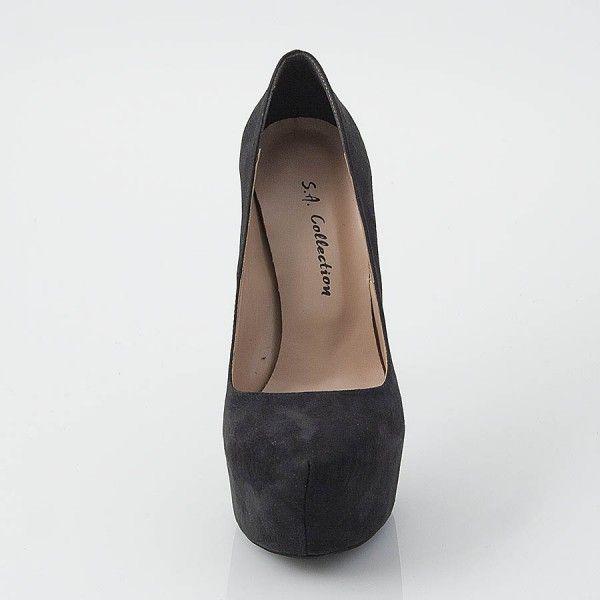 Γυναικεία Παπούτσια S.A. | Γυναικεία Γόβα Συνθετικό Δέρμα Καστόρι | E-SHOES.GR