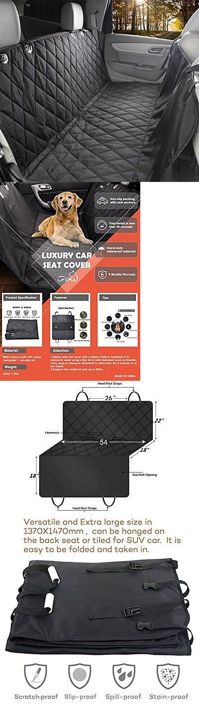 Car Seat Covers 117426: Pet Seat Cover Tm Dog For Cars Anti Slip In Large Size Perfect Suvs Accessories -> BUY IT NOW ONLY: $37.12 on eBay!