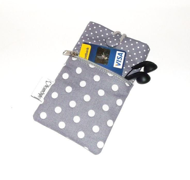 Handytasche Smartphonetasche Handycase Schutzhülle  Star71 - extra Reißverschlussfach von Traumstyle auf Etsy