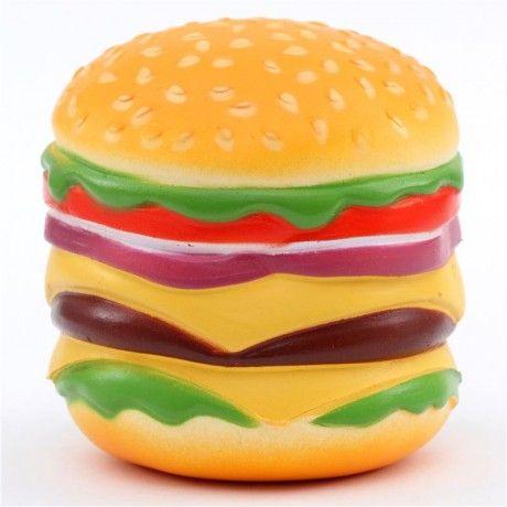 cute colorful hamburger food squishy kawaii