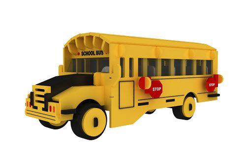Желтый Школьный Автобус Представление1