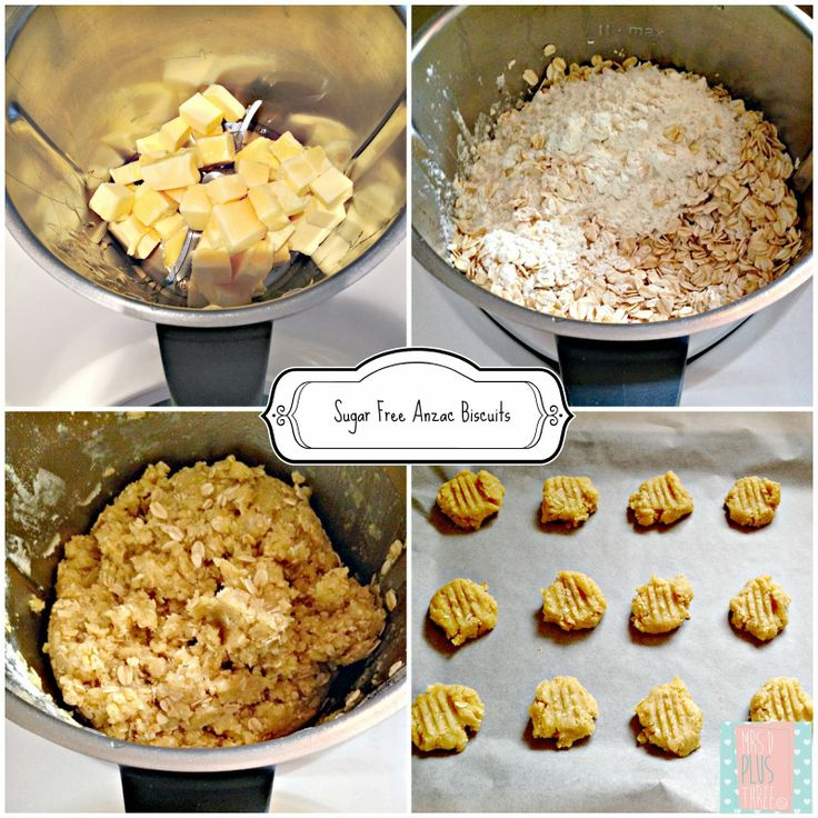 #sugarfree Anzac biscuit #Thermomix #recipe for Australia Day from @Robyn (Mrs D)