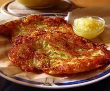Potato pancakes / Kartofelpuffer