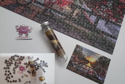 """Gold """"mikro puzzle"""" 99 Parça"""