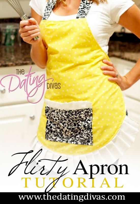 Cute and easy apron tutorial