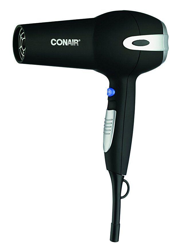 Conair 1875 Watt Ionic Ceramic Hair Dryer Black Ceramic Hair Dryer Best Professional Hair Dryer Hair Blow Dryer