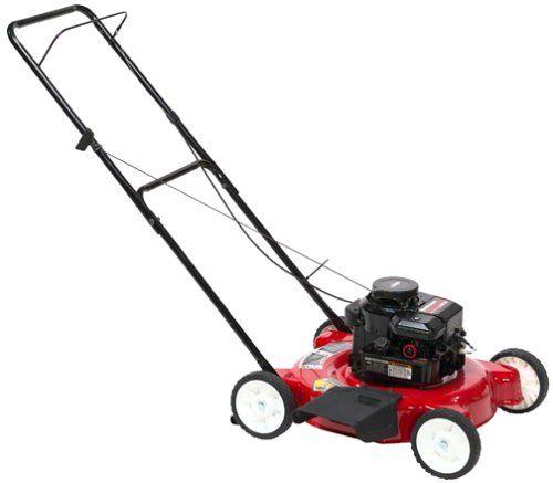 Yard Machines 11A-020B000 20-Inch 148cc Briggs & Stratton Mulch/Side Discharge Gas Powered Push Lawn Mower on Sale