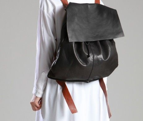 Leather Backpack by Lurdes Bergada | Tododesign by Arq4design
