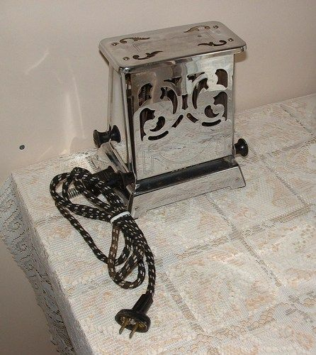 Electric Toaster History ~ Best images about art deco toasters on pinterest