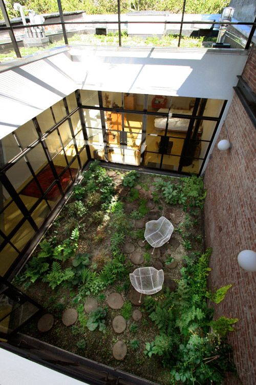 Best 25 indoor courtyard ideas on pinterest atrium Indoor courtyard house plans