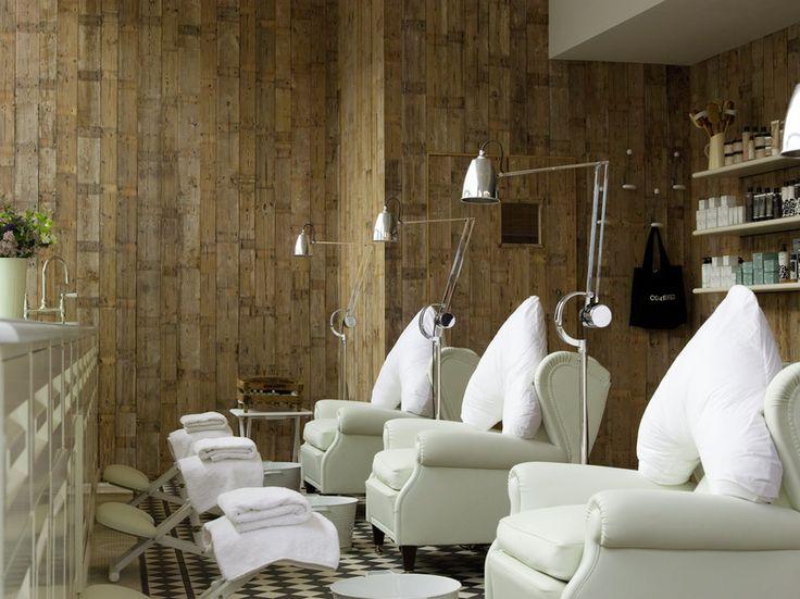 Sweet pedicure chairs Oh Soho House I miss you Ahhhh Spas