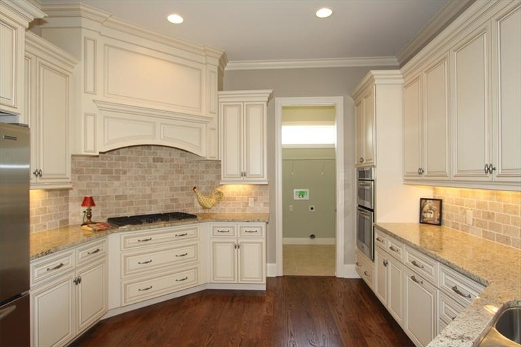 28 best images about new house kitchen ideas on pinterest for Cream and brown kitchen ideas