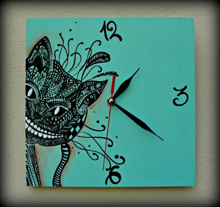 """Ceas de perete """"Cheshire Cat"""""""