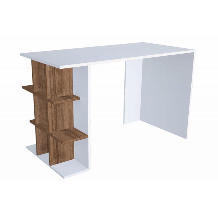 Office Minar Plus white-walnut 60x120x75