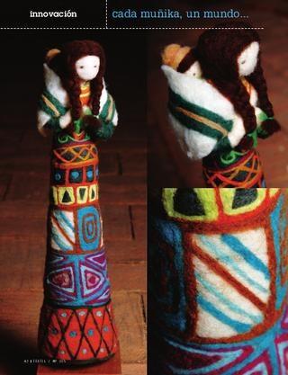 Muñikas, delicada artesania chilena